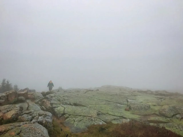 Intrepid author emerges from the fog