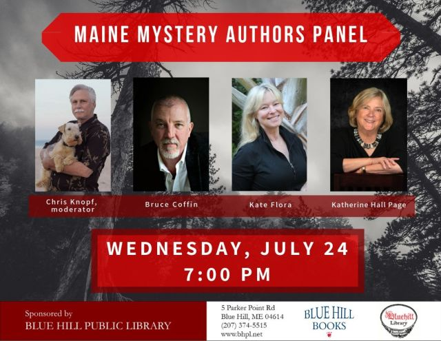 Maine Mystery Authors Panel