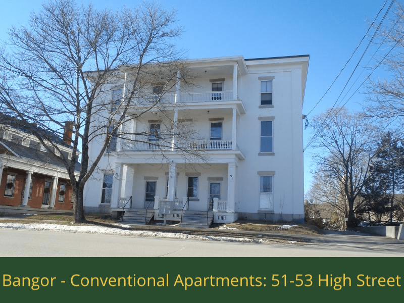 Bangor - Conventional Apartments - 51-53 High Street: