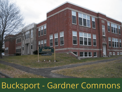 Bucksport - Gardner Commons: 26 units total – (24) 1 bedroom apartments and (2) 1 bedroom handicap accessible apartments