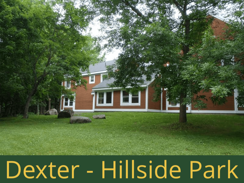 Dexter - Hillside Park: 24 units total – 1 bed apartments and 2 bedroom apartments