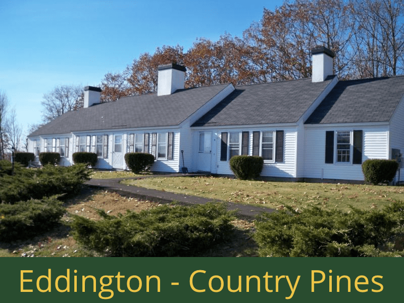 Eddington - Country Pines: (24) 2 bedroom apartments