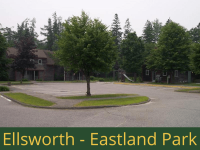 Ellsworth - Eastland Park: 24 units total - (3) 1 bedroom apartments, (1) 1 bedroom handicap accessible apartment, (19) 2 bedrooms apartments, (1) 2 bedroom handicap accessible apartment - [22 units are basic rent and 2 have rental assistance]