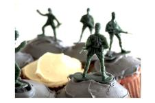 """Cupcake War"" by freshman Julia Fortin"