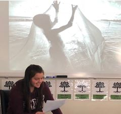 Students in Mrs. Boehmer's ELA classes learned to analyze photos by making inferences about the characters, action, and setting. From their inferences, they wrote narratives and shared them with their classmates.