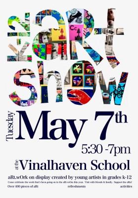K-12 Art Show Poster
