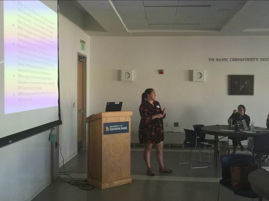 RSU 57 Prek Teachers Train Fellow Educators on Research-based Prek Practice
