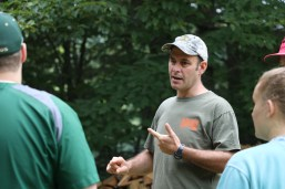 Ryder Scott, UMaine staff member with backgrounds in outdoor education.