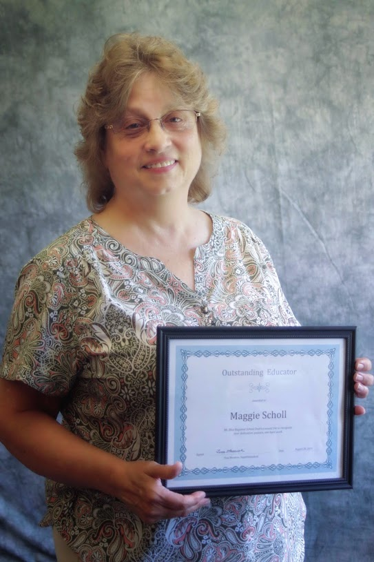 Franklin County Adult Education Educator Recognized as Outstanding District Educator