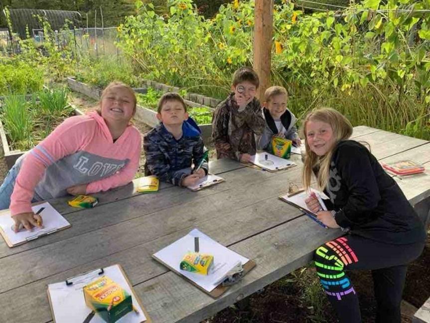 Old Town Elementary School Celebrates School Garden