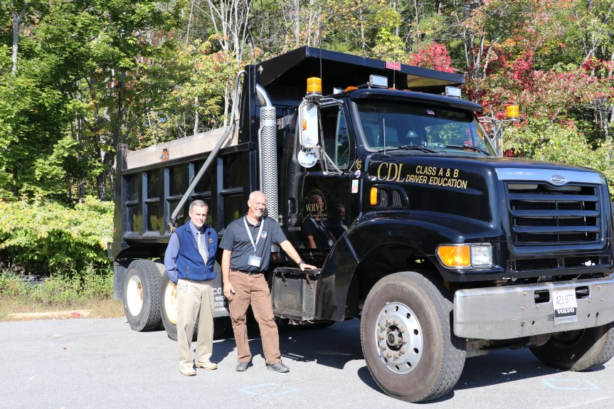 Westbrook Regional Vocational Center CDL Program Assists with Donated Supplies for Maine Schools
