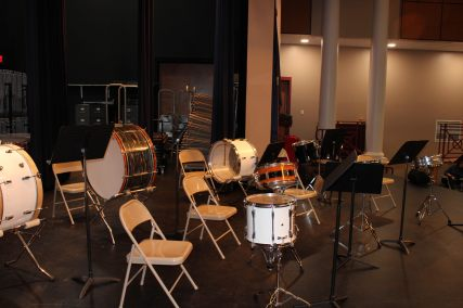 Percussion Class Set Up