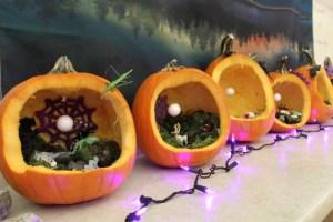 Pumpkin Shadow Boxes