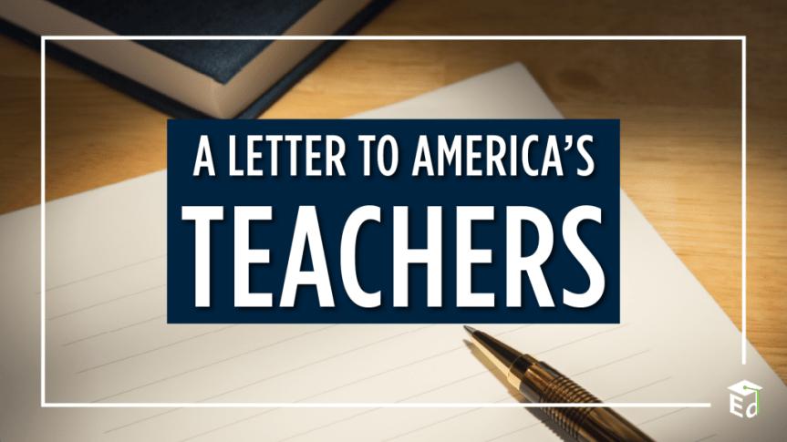 A Letter to America's Teachers from Secretary Cardona