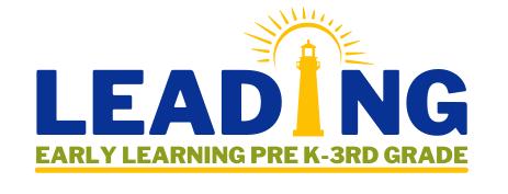 Leading Early Learning Prek-3rd Grade