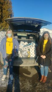 Presque Isle Regional Career & Technical Center students oversee homeless shelter delivery