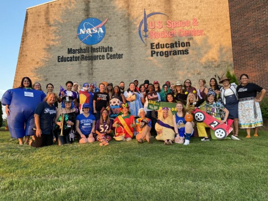 Maine 2020 and 2021 Teachers of the Year Attend NASA Space Camp Experience