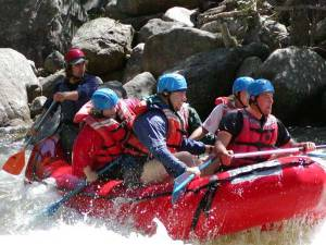 Whitewater Rafting in Maine