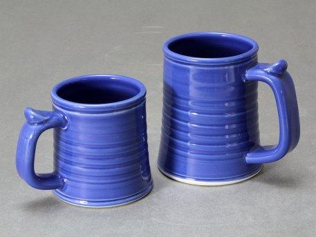 Mug   Tankard Group — Blue Celadon Glaze