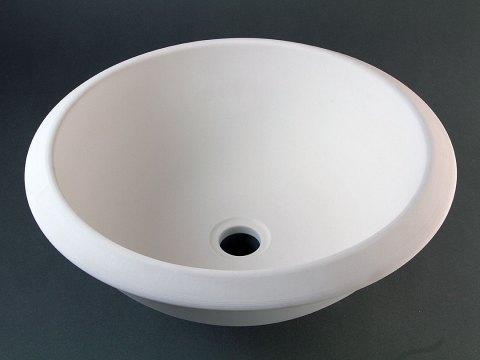 Bisque Rim Bath Sink