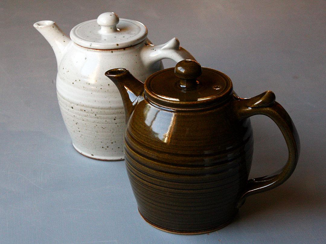Stoneware Teapot Set