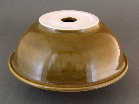 Porcelain Rim Sink — Amber Celadon Glaze