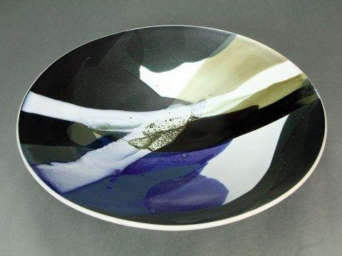 Porcelain Footed Bowl