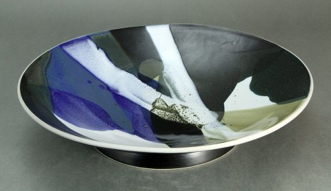 Porcelain Footed Bowl