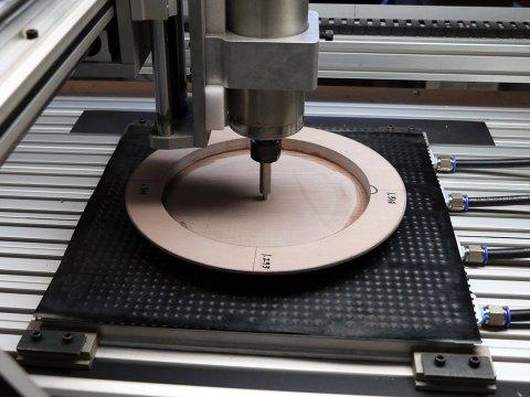 CNC Dinner Plate Model Setup
