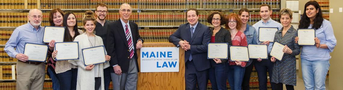 Certificate In Compliance University Of Maine School Of Law