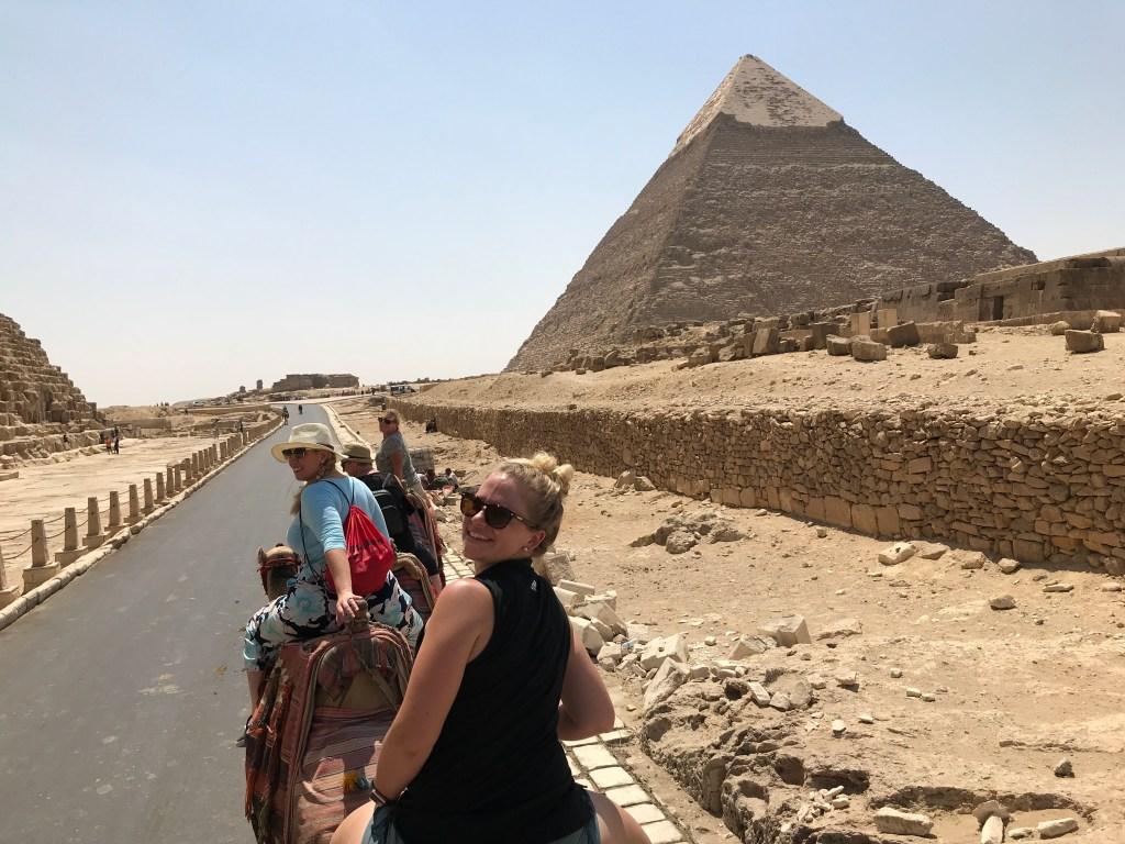 Camel ride Pyramid of Giza