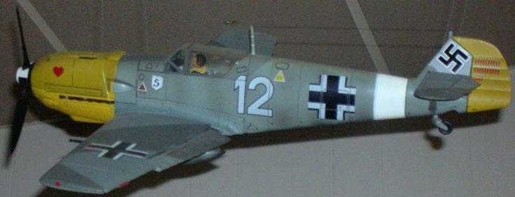 German ME-109 during WW II