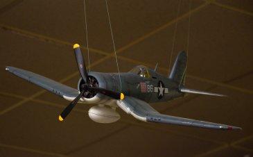 """Pappy"" Boyington's F-4U Corsair."