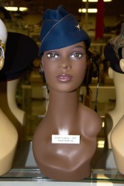 US Air Force Academy female flight cap from 2012.