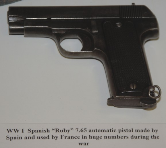 World War I Spanish ''Ruby'' 7.65 Automatic Pistol