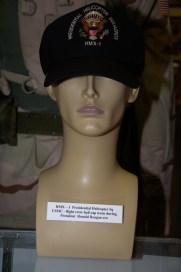 HMX-1 Presidential Helicopter Squadron US Marine Corps flight crew cap worn during President Reagan era.