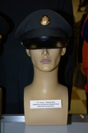 Vietnam War US Army enlisted service hat - altered from standard issue.