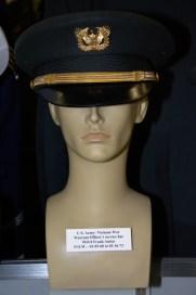Vietnam War US Army Warrant Officer's service hat worn by WO/4 Frank Anton, POW 01-15-1968 to 03-16-1973.