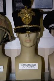 US Military Academy, West Point, Cadet Parade dress shako worn by Lt. Col. Bill Acuri, USAF, POW 12-20-1972 to 02-12-1973.