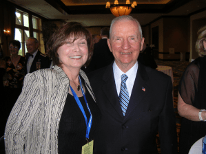 Maureen with Ross Perot