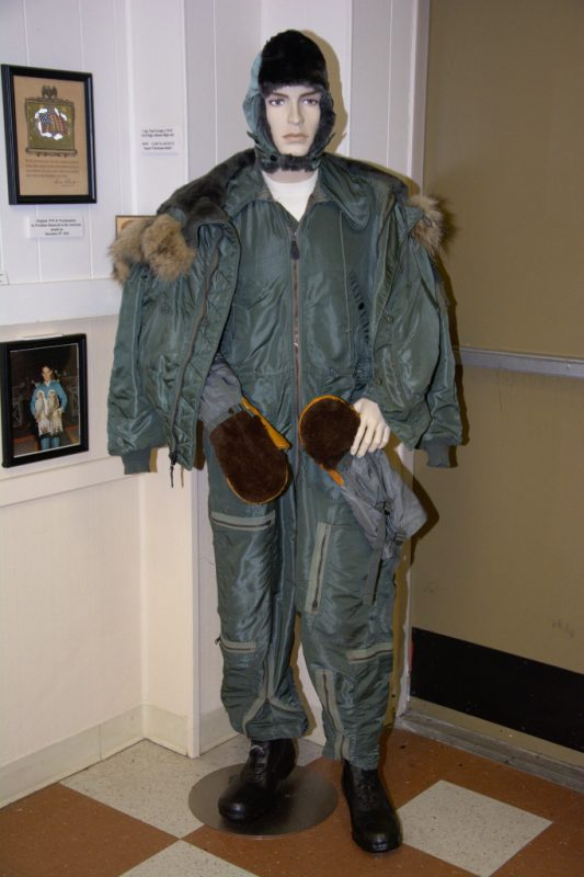 B-52 High Altitude flight suit worn by Capt. Paul Granger, US Air Force, POW 12-20-1972 to 03-29-1973.