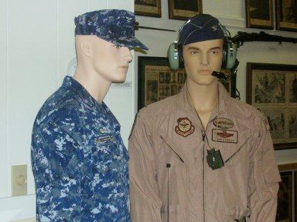 Capt. B & Col. D'Errico (now Brig Gen) Maine Air National Guard