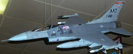 F-16 during the Iraq/Afghanistan War