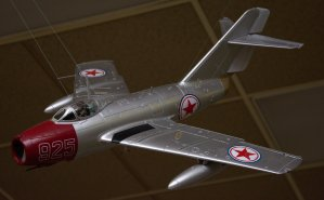 Korean War MIG-15.