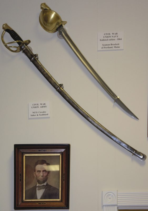 Civil War Cutlass, Saber, and Scabbards