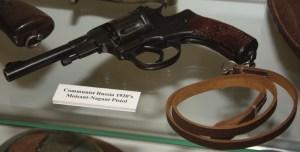 Communist Russia 1920s Moisant-Nagant Pistol