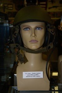 US Army and US Marine Corps tanker's helmet worn during the 1990s and 2000s.