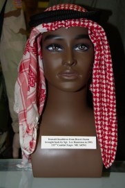 First Gulf War/Desert Storm Kuwaiti headdress
