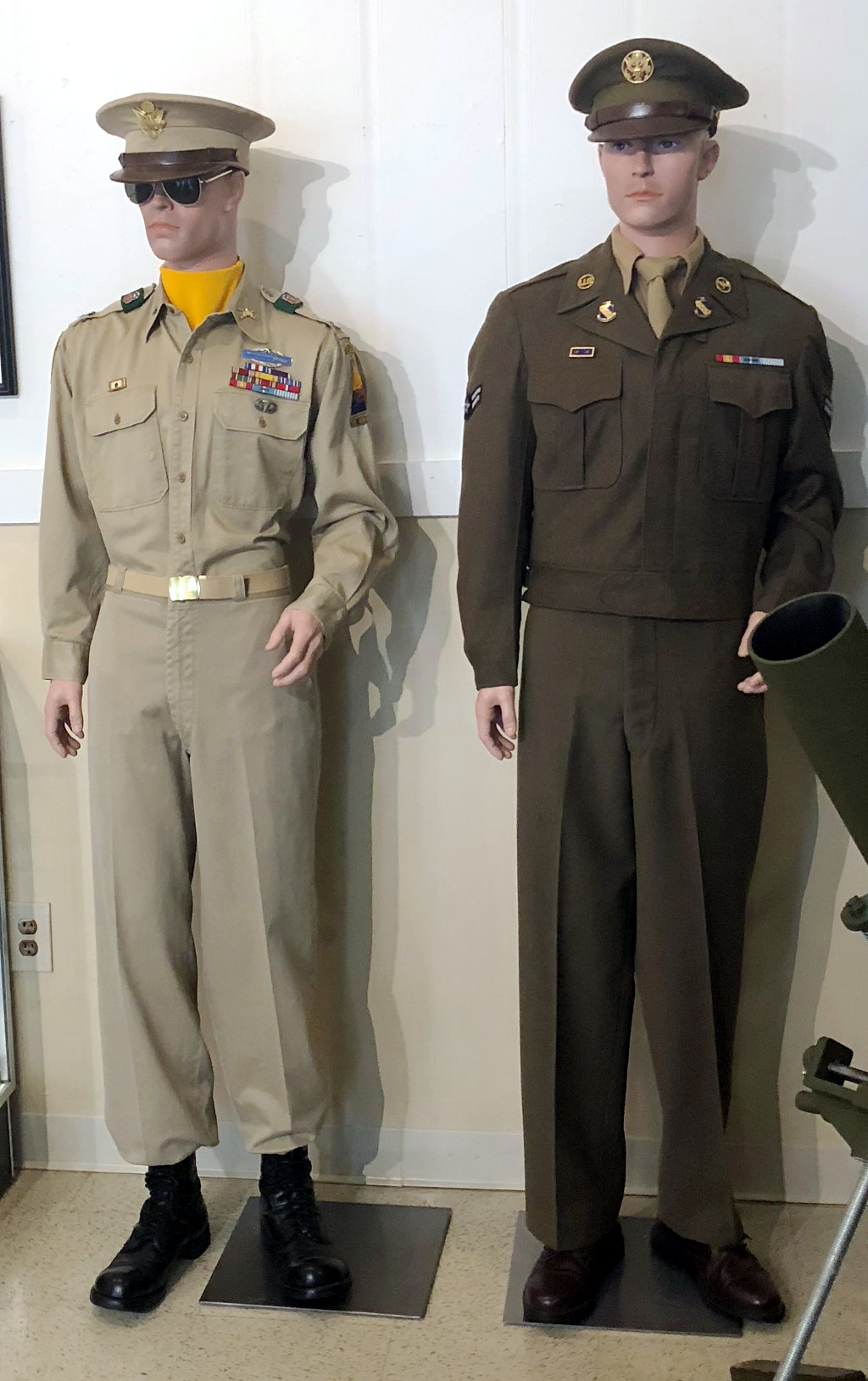 Korean War Army Officer & enlisted Airman