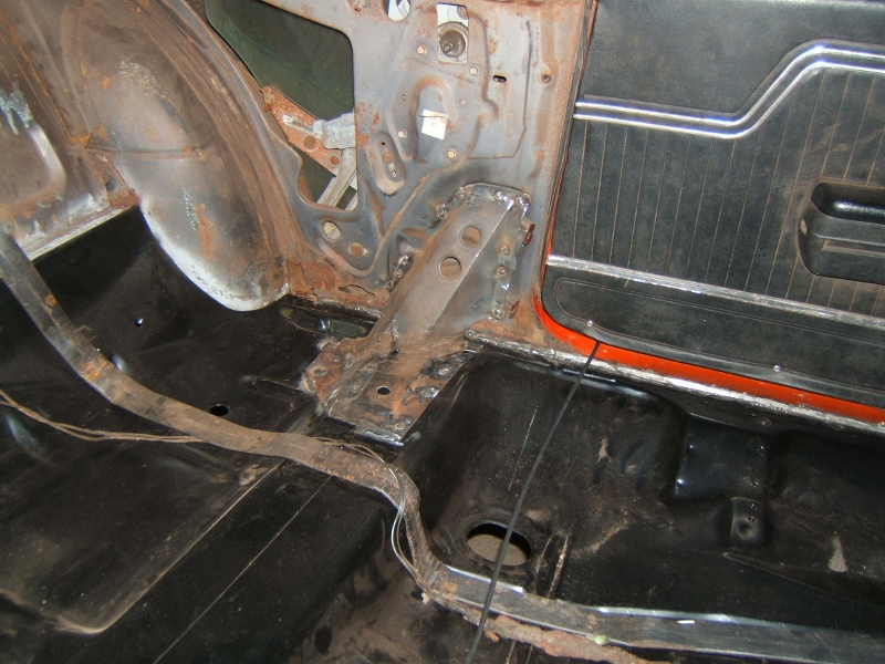 1971 Chevelle Floor Pan Seamsealer Maine Mustang